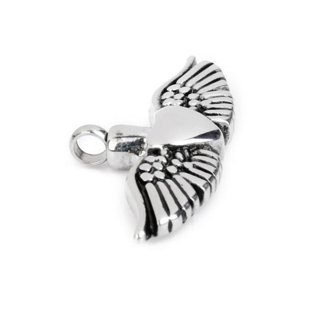 4.7 cm Angel's Heart Memorial Pendant