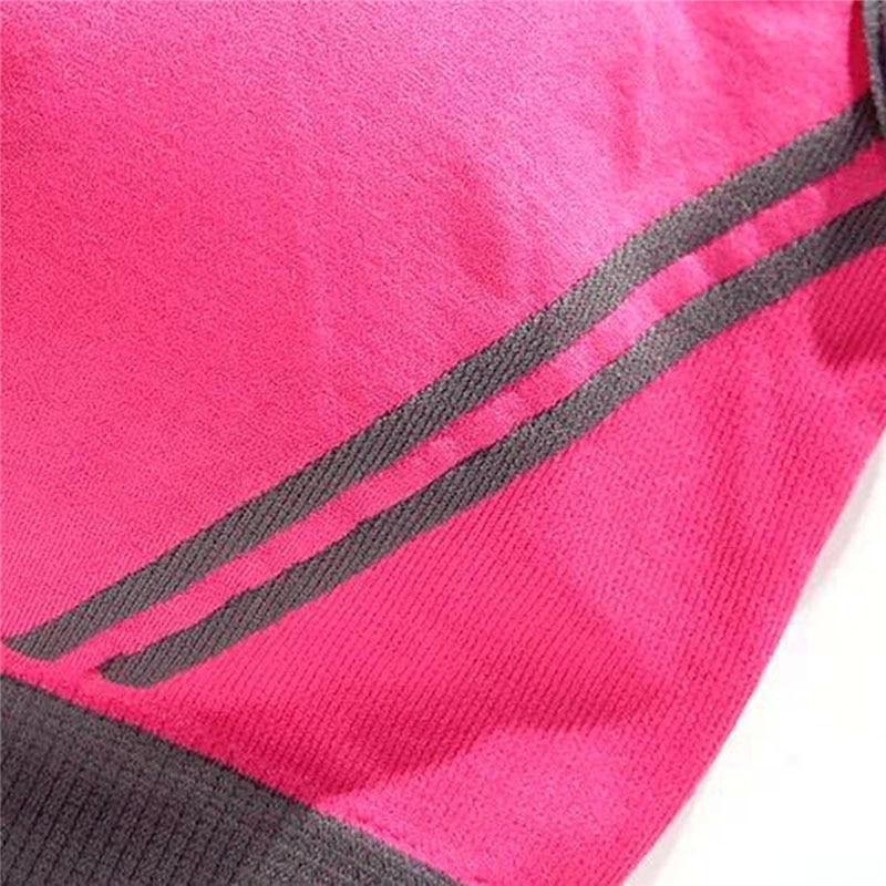 Daddy Chen Sport în aer liber Femei căptușite Top sport veston Gym - Imbracaminte sport si accesorii - Fotografie 5