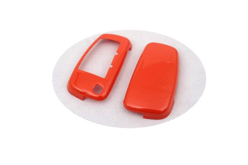 Gloss Orange Remote Flip Key Cover Case Skin Shell Cap Fob Protection Hull S Line For Audi A3 A4 A6 Q5 Q7 Tt R8