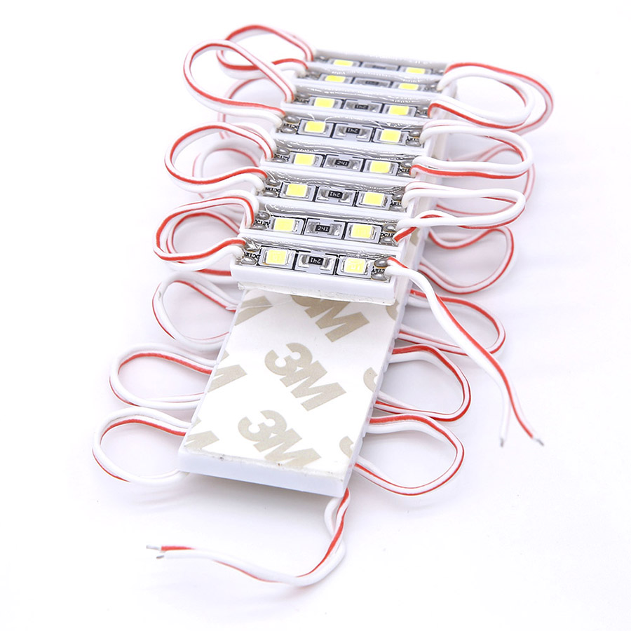 Small Size LED Module Light 2835 SMD 2 LEDs DC12V Waterproof IP65 Advertising Sign Letter Storefront Modules Strip Tape Lamps