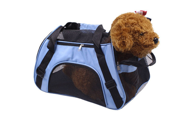 Petminru Portable Pet Backpack Messenger Carrier Bags Cat Dog Carrier Outgoing Travel Teddy Packets Breathable Small Pet Handbag 5