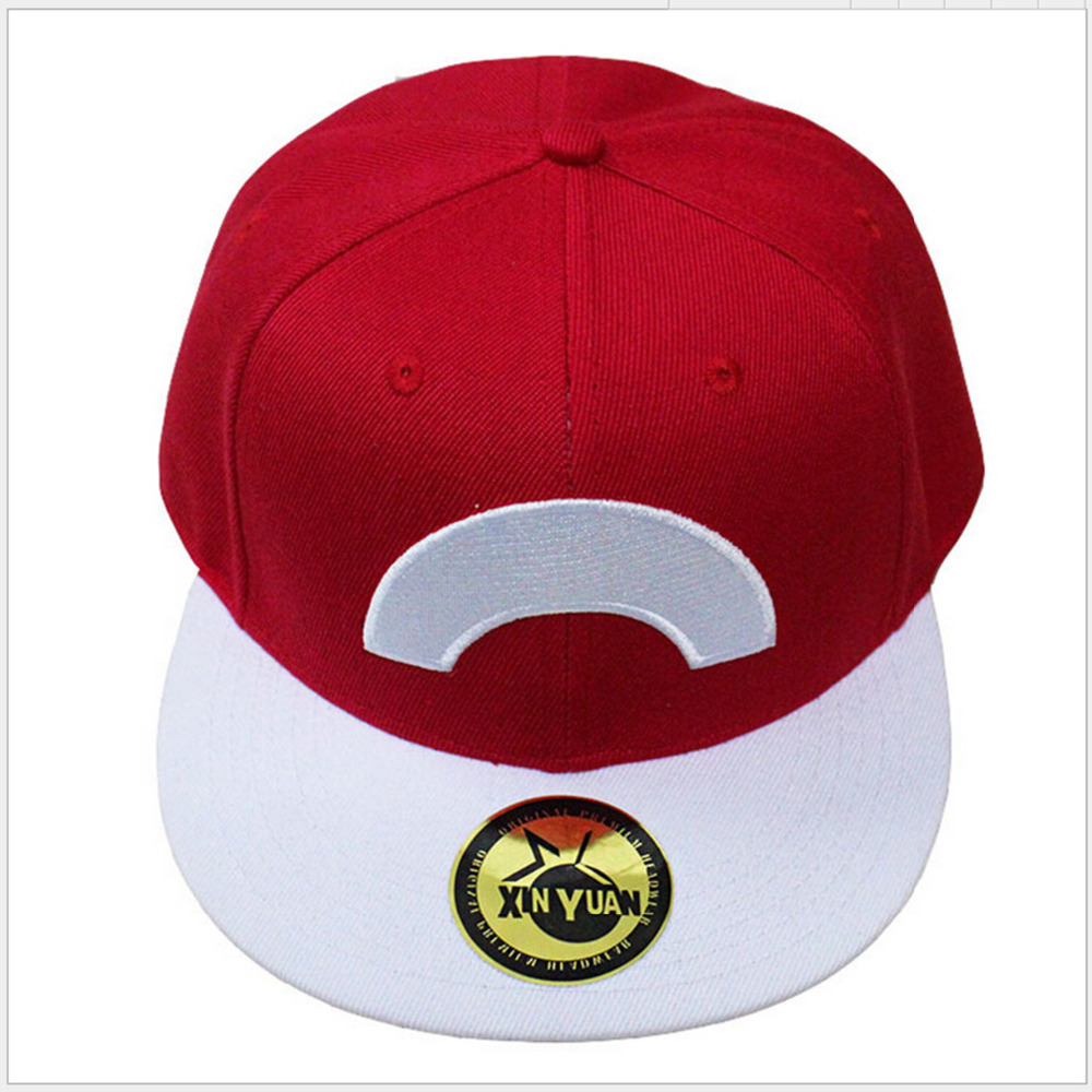 Anime Pocket Monster Ash Ketchum Cosplay Cap red cartoon Pikachu ladies dress Pokemon go Hat charm Costume Props Baseball cap стоимость