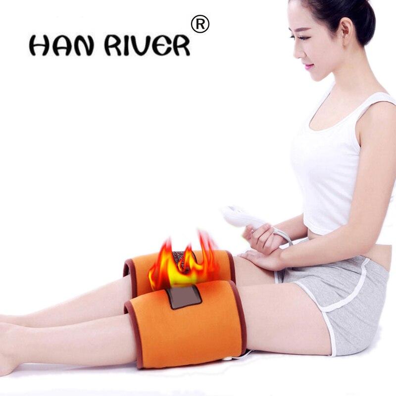 Река Хан Многофункциональный электротермического колена теплый прижигание теплый старый холодную ногу до колена разминающий массаж элект...