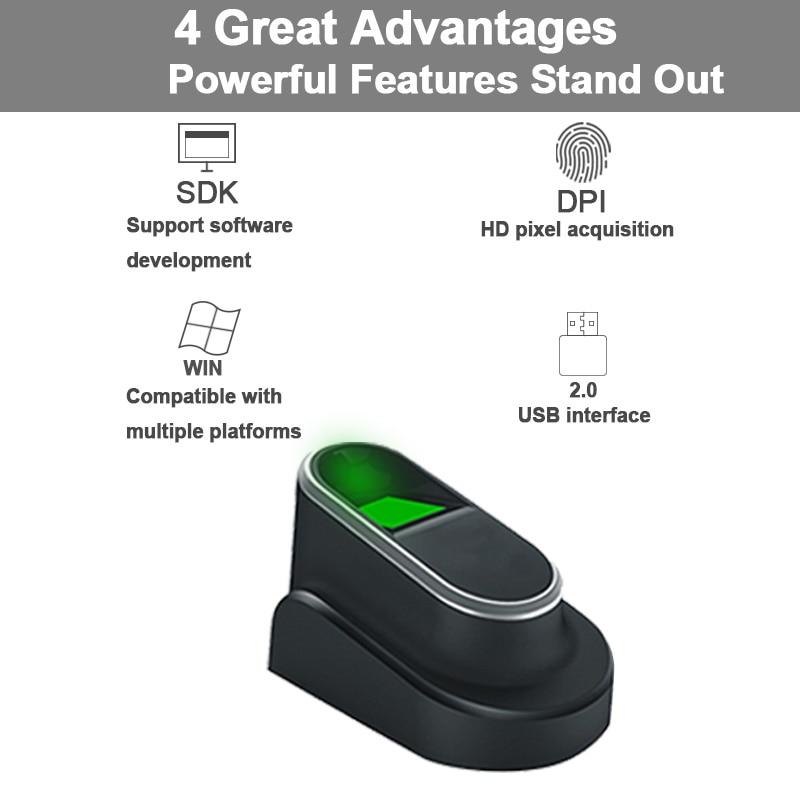 US $53 12 24% OFF Eseye USB Fingerprint Reader For PC Biometric Fingerprint  Scanner USB With SDK Windows Linux Fingerprint Sensor/Module Bank-in