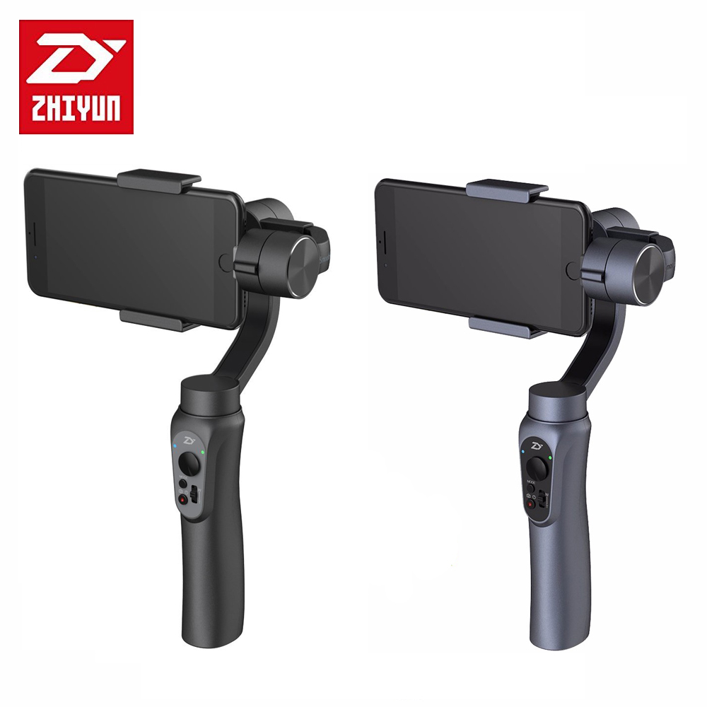 Camera Gimbal zhi yun ZHIYUN Smooth Q smartphone Handheld 3-Axis Gimbal Portable Stabilizer action camera for Smartphone iPhone [hk stock][official international version] xiaoyi yi 3 axis handheld gimbal stabilizer yi 4k action camera kit ambarella a9se75 sony imx377 12mp 155‎ degree 1400mah eis ldc sport camera black