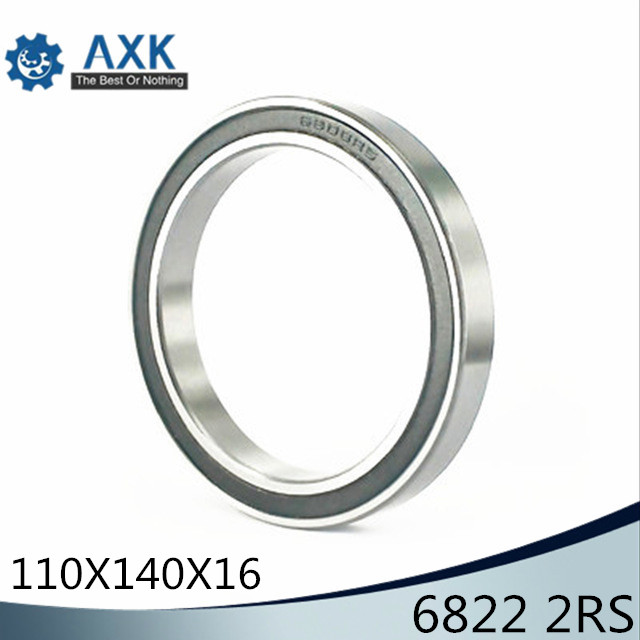 6822 2RS ABEC-1 110x140x16MM   Metric Thin Section Bearings 6822 RS6822 2RS ABEC-1 110x140x16MM   Metric Thin Section Bearings 6822 RS
