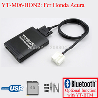 Yatour car radio USB SD AUX digital interface for Acura Honda Accord Civic CRV Odyssey Pilot