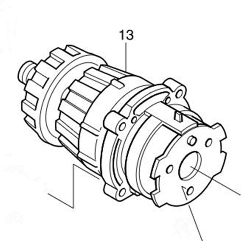 GEAR ASSY 125165 8 For Makita 8443DWDE 8433DWDE 8413DWDE BHP460 8443D 8433D 8413D