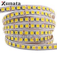 5m/lot DC12V 5054 Super Brightness White/Warm White Led Light Strip 60Leds/m 120Leds/m Waterproof Flexible LED Ribbon Tape Strip