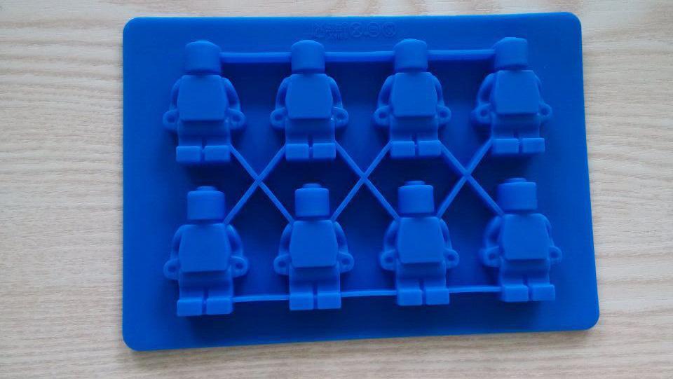 Lego Toy Shape Silicone Fondant Chocolate Mould