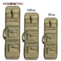Desert 85cm 100cm 120cm Tactical Hunting Backpack Dual Rifle Square Carry Bag with Shoulder Strap Gun Protection Case Backpack
