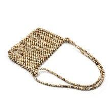 Women Bags Designer Hand Acrylic Beading Woven Bag Bamboo Bag Stitching Hollow Clutch Female Bali Beach Holiday Shoulder Bag цена 2017