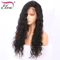 Elva Hair 250 Density Lace Front Human Hair Wigs For Black Women Natural Wave Lace Front