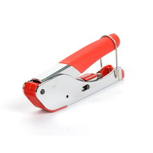 цена на 1Pc RG59/RG6 Coaxial Plier Network Cable Stripper Wire Crimper Stainless Steel For Coaxial F Connector