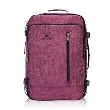 38L Flight Approved Weekender Carry On Backpacks For Men Women Vintage Travel Large Luggage Bag