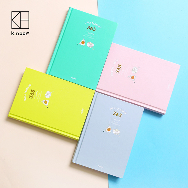 New 2017 Korean Kawaii Cute 365 Planner Daily Weekly Monthly ...
