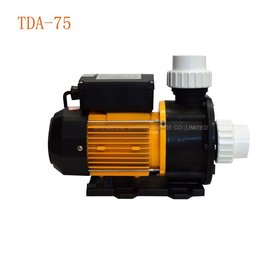1 piece LX TDA75 SPA Hot Tub Whirlpool Pump TDA 75 Hot Tub Spa Circulation Pump & Bathtub Pump 220V 550W