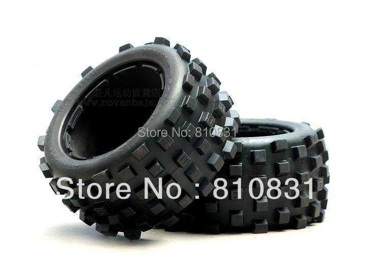 The off-road cover tyres for rear wheels of 5b baja  Not contain inner tyres hpi  baja rv km   Tires