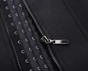 Image 5 - הרזיה חגורת תחתוני זיעה סאונה גוף Shaper מותן מאמן מחוכי דוגמנות רצועת תרמו הרזיה אפוד לנשים