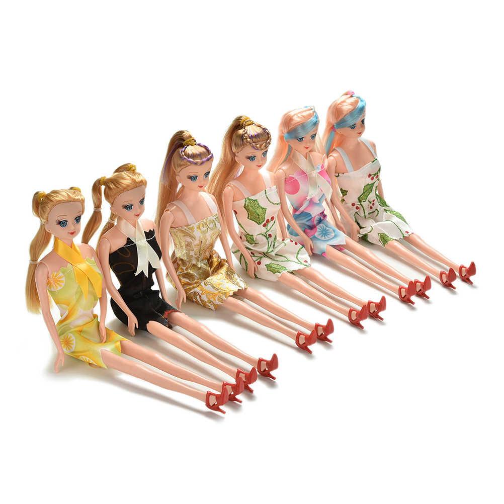 5 суставов DIY обнаженное туловище для куклы Барби дом подарок на день рождения детская игрушка