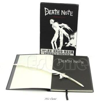 Новая нота смерти косплей тетрадь и перо блокнот аниме Тетрадь для записей >> Hey HomeGarden Store
