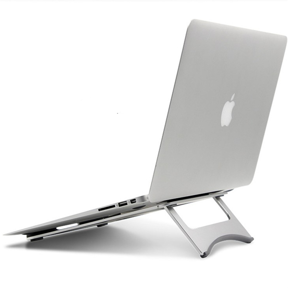 1 Pc Aluminum Alloy Fold Computer Pad Holder Stand Stent Pouch Bracket 3 Color aluminium alloy headset stand holder