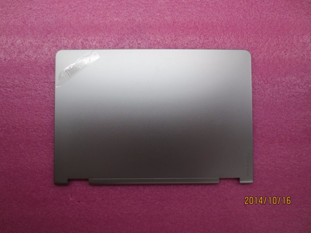 New Original for Lenovo ThinkPad S3 Yoga 14 LCD Rear Lid Back Top Cover Silver 00HN632 new original for lenovo thinkpad s5 s531 s540 lcd rear lid back cover top case black 04x1675 non touch 04x5206 touch