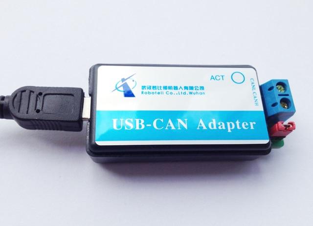 Бесплатная доставка Шины CAN Анализатор USB к CAN USB-CAN отладчик/адаптер/связь/конвертер