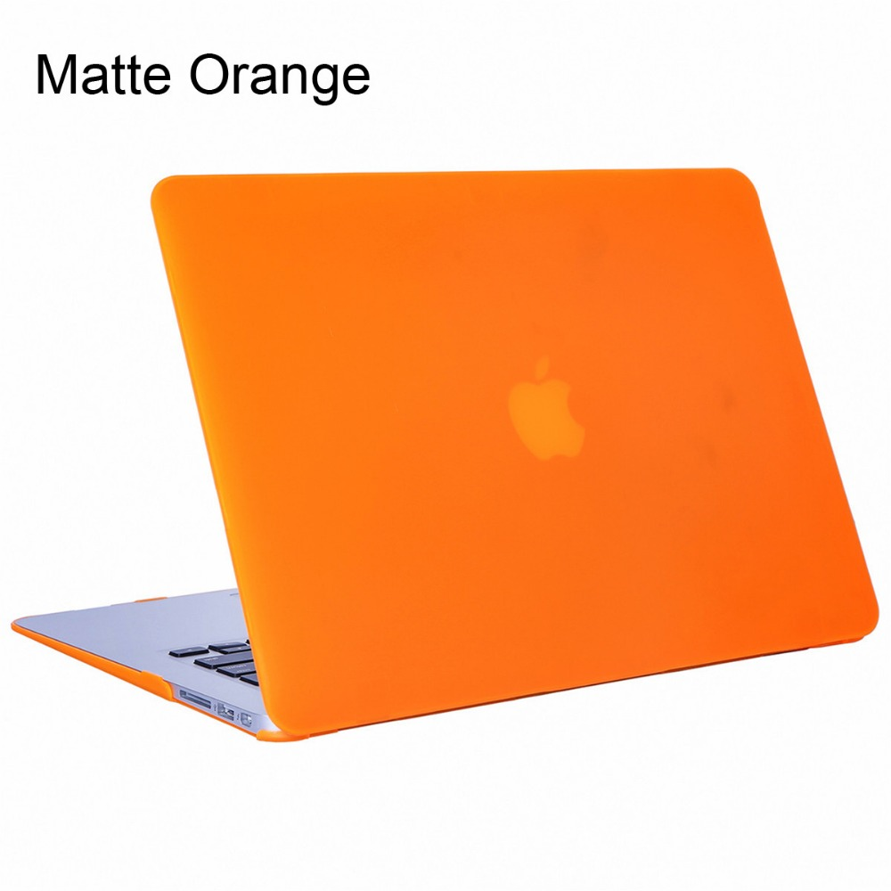 matte frosted shell case for coque macbook air pro retina 11 12 13 15 inch bag laptop cases for