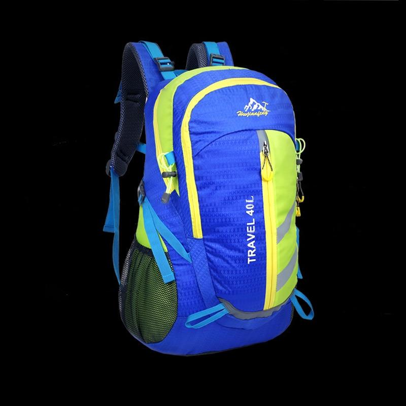 40L Outdoor Bags Running riding Cycling Bakcpack Hiking Camping Traveling Rucksack for Men Women free Waterproof Rain cover