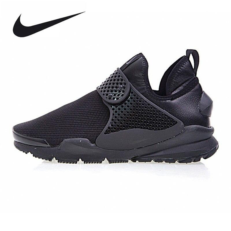 Nike Sock Dart Mid Для мужчин кроссовки, открытый кроссовки обувь, черный/синий, дышащие Нескользящие 924454 001 924454 400