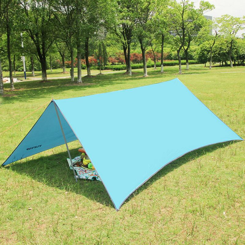 FLYTOP 300cm 290cm outdoor awning tent camping shade gazebo for garden single beach sun canopy shelter Picnic equipment in Sun Shelter from Sports Entertainment