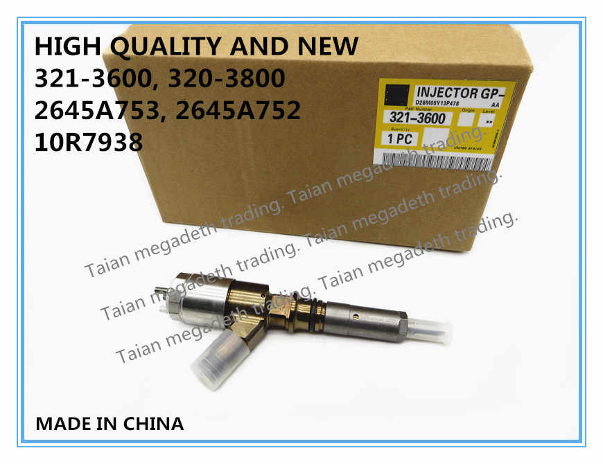 HIGH QUALITY REMANUFACTURE C6.6 FUEL INJECTOR 321-3600, 320-3800, 2645A753, 2645A752, 10R7938
