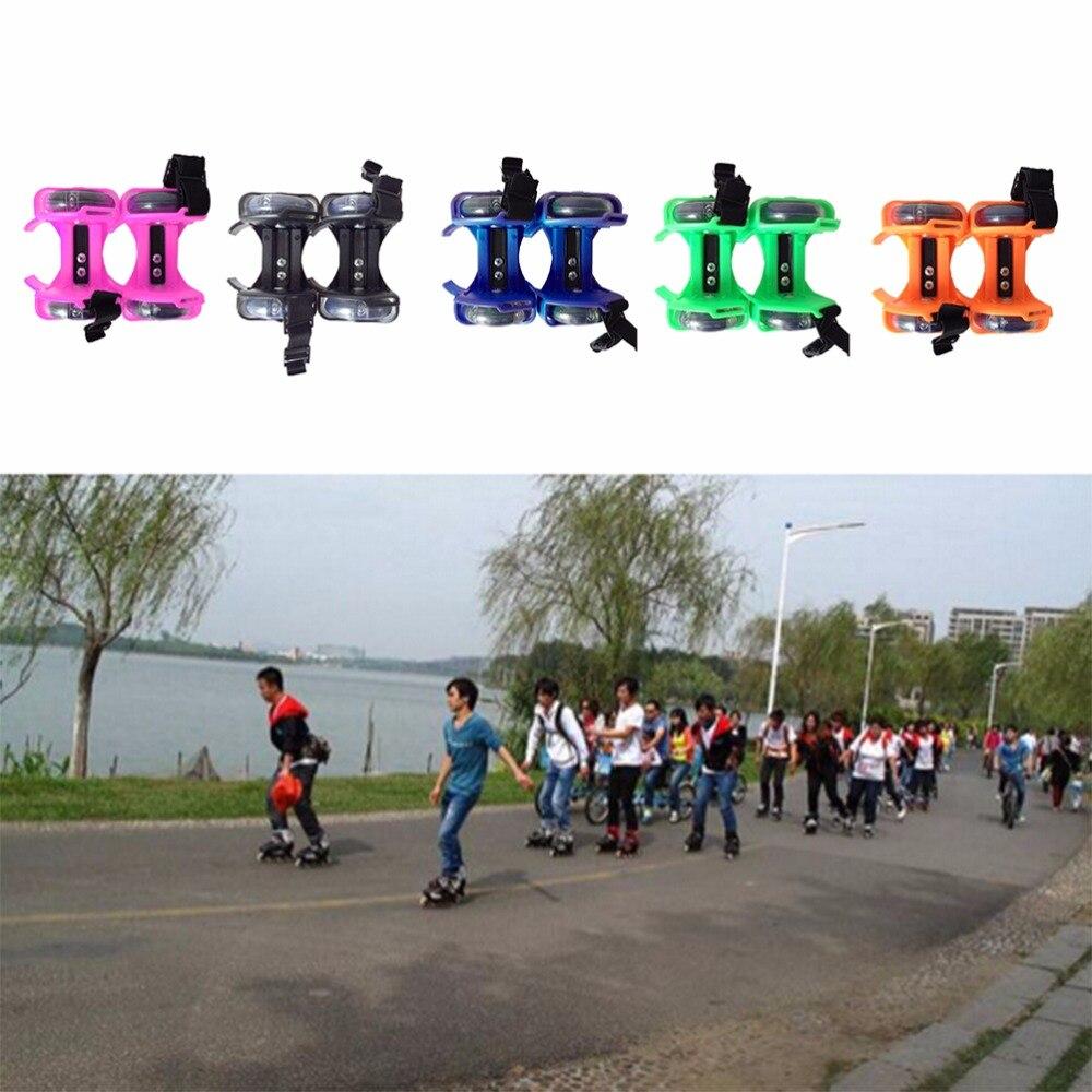 Prix pour Réglable Enfant Talon Jetts Roues Patins Rouleau Adulte Falsh Lame Sangle De Chaussures Enfants Flashing Roller Skate Chaussures