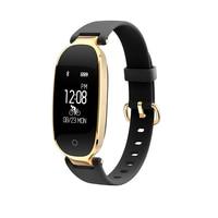 Female Girl Women S3 Bluetooth Smart Band Sport Wristband Heart Rate Monitor IP67 Waterproof Smartband Bracelet