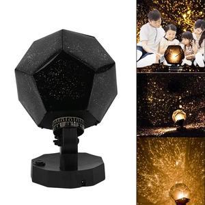 Image 4 - Celestial Star Sky Projection Cosmos Night Lights Projector Night Lamp Star Romantic Bedroom Decoration Lighting AA Battery