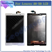 Tablet LCDs For Lenovo IdeaTab A8 50 A5500 LCD Display Touch Screen Panel Digitizer Sensor Panel