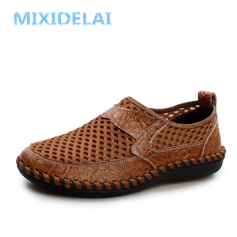 Men's Shoes Sensible Laisumk Plus Size High Quality 2019 Mens Casual Set Of Feet Shoes Autumn Lightweight Breathable Flats Fashion Male Shoes Men's Casual Shoes