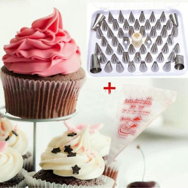 The Best Price For 52pcs Icing Piping Pastry Fondant Cake ...