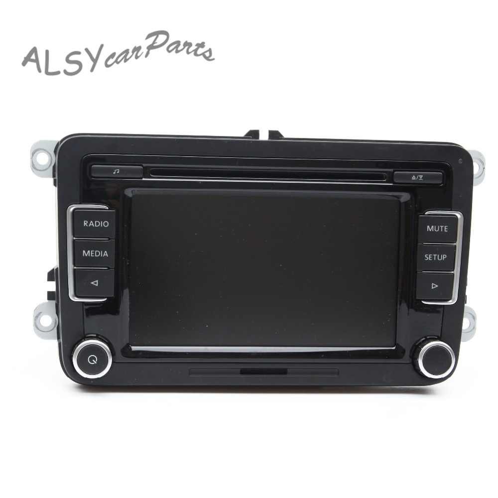 "KEOGHS OEM 6.5"" Color Touchscreen Car Radio For VW Golf MK6 Passat B6 Tiguan RCD 510 Supports Bluetooth SD Card USB AUX Input"