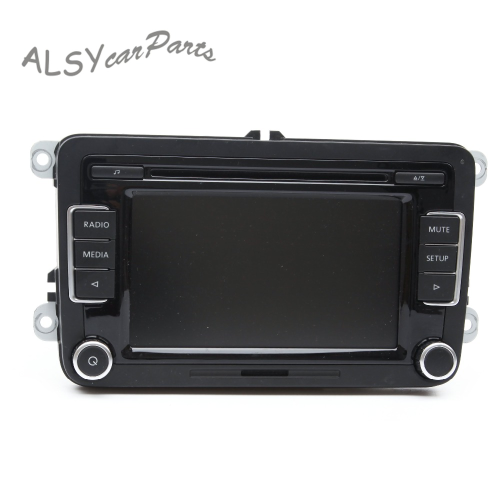 KEOGHS OEM 6.5 Color Touchscreen Car Radio For VW Golf MK6 Passat B6 Tiguan RCD 510 Supports Bluetooth SD Card USB AUX Input золотой браслет ювелирное изделие 27363