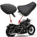 Передняя драйвер соло сиденья + задних пассажиров колодок для Harley спортстер XL1200 883 72 48
