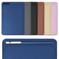 For IPad Pro 12 9 Inch ZVRUA New 2017 Premium PU Leather Sleeve Case Pouch Bag