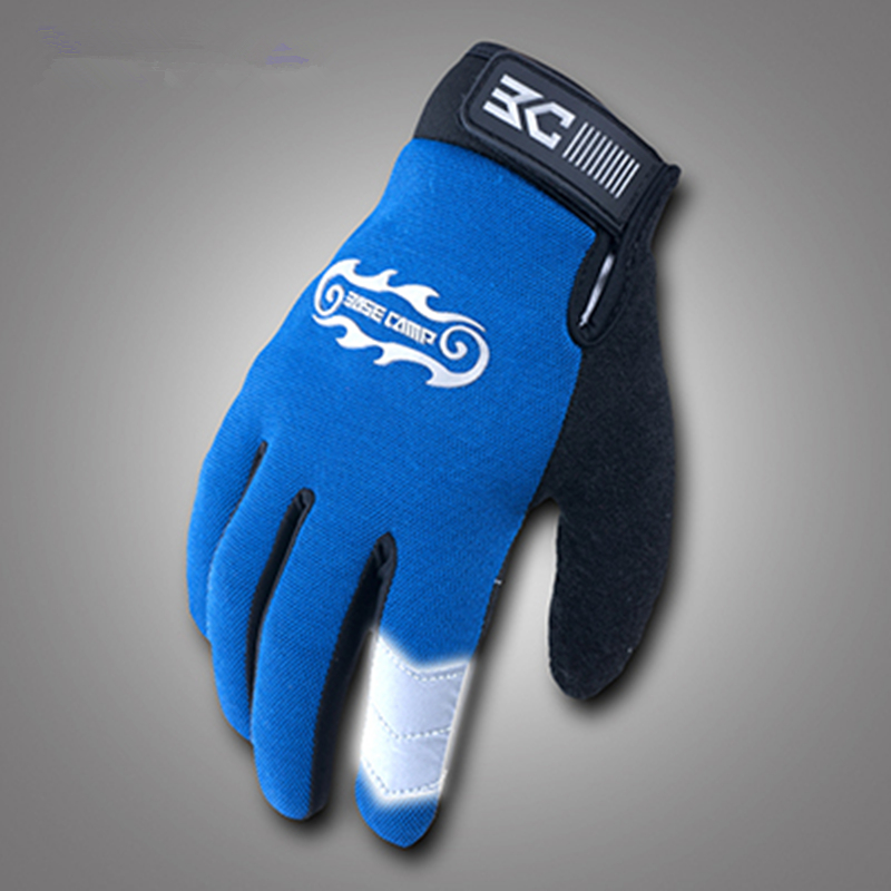 Free Shipping Mens Sport Breathable Shockproof Gloves Full Finger Outdoor Windproof Touch Screen Bike Bicycle Cycling Gloves