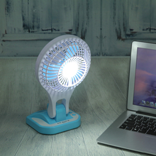 VKTEVH Mini USB Fan Small LED Lamp Desk Fan Portable Air Cooling Ventilador USB Fan Student