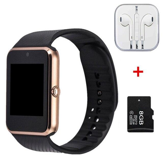 Hot Smart Watch GT08 Clock Sync Notifier support SIM TF Card Connectivity Apple iphone Android Phone Smartwatch PK dz09 u8 gd19