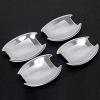 Fit For Hyundai Sonata I45 2011 2013 Chrome Side Door Handle Bowl Cover Cup Trim Insert