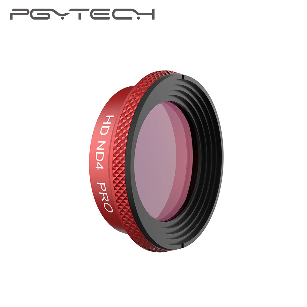 PGYTECH DJI Mavic aire filtro profesional UV CPL ND4 ND64PL Drone Cámara filtro para Mavic aire (versión profesional)