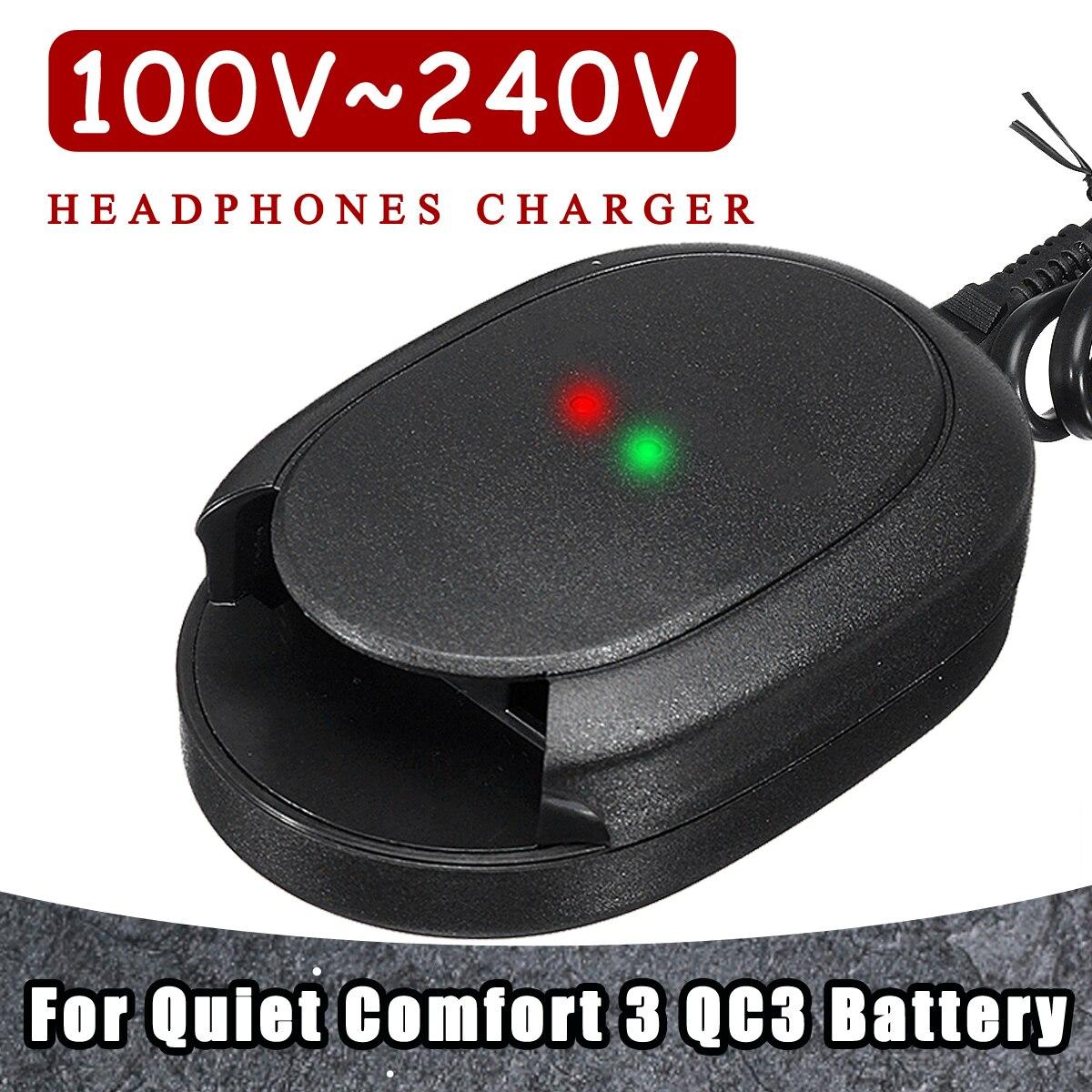 Kinco Kopfhörer Ladegerät Für Ruhige für Komfort 3 für QC3 100 V ~ 240 v Schnelle Lade Tragbare Reise Hause wand Batterie Power Versorgung