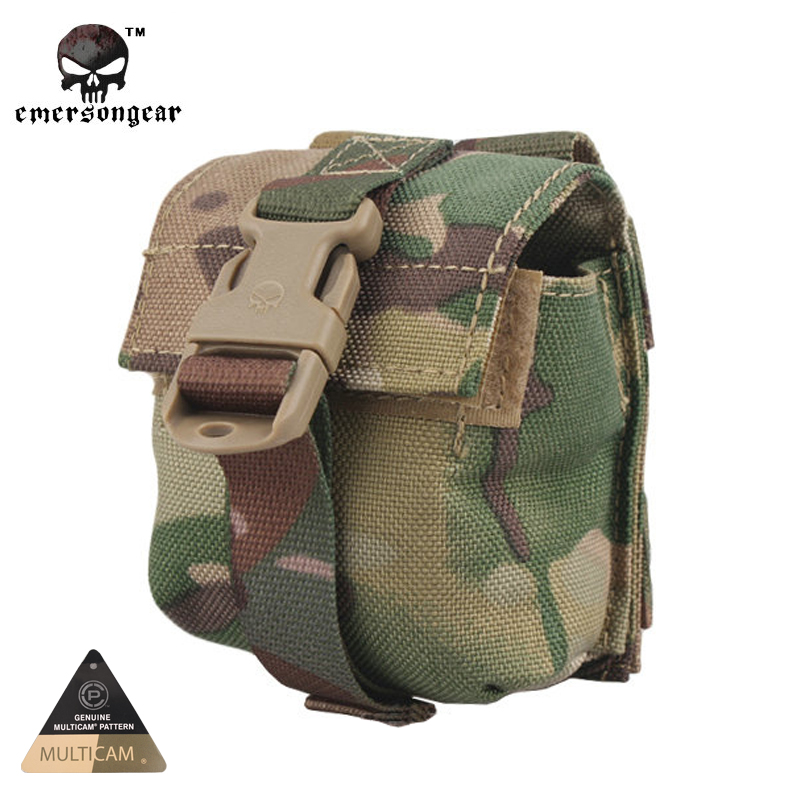 Emersongear LBT Style Single Frag Grenade Pouch Molle Military Airsoft  Painball Combat Gear EM6369 Leisure Bags